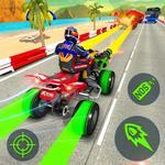 ATV Quad Bike Shooting e Simulador de Corridas APK