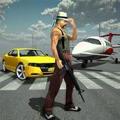 拉斯维加斯 犯罪 市 飞机 运输车 图标