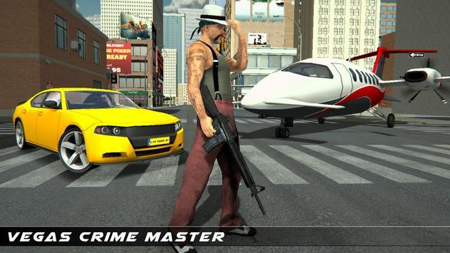 拉斯维加斯 犯罪 市 飞机 运输车 海报