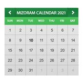 Mizoram Calendar 2021 simgesi