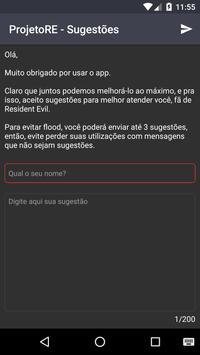 ProjetoRE screenshot 2