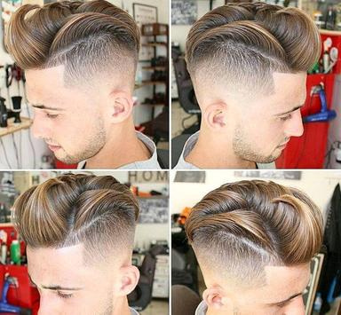 mans hairstyle poster