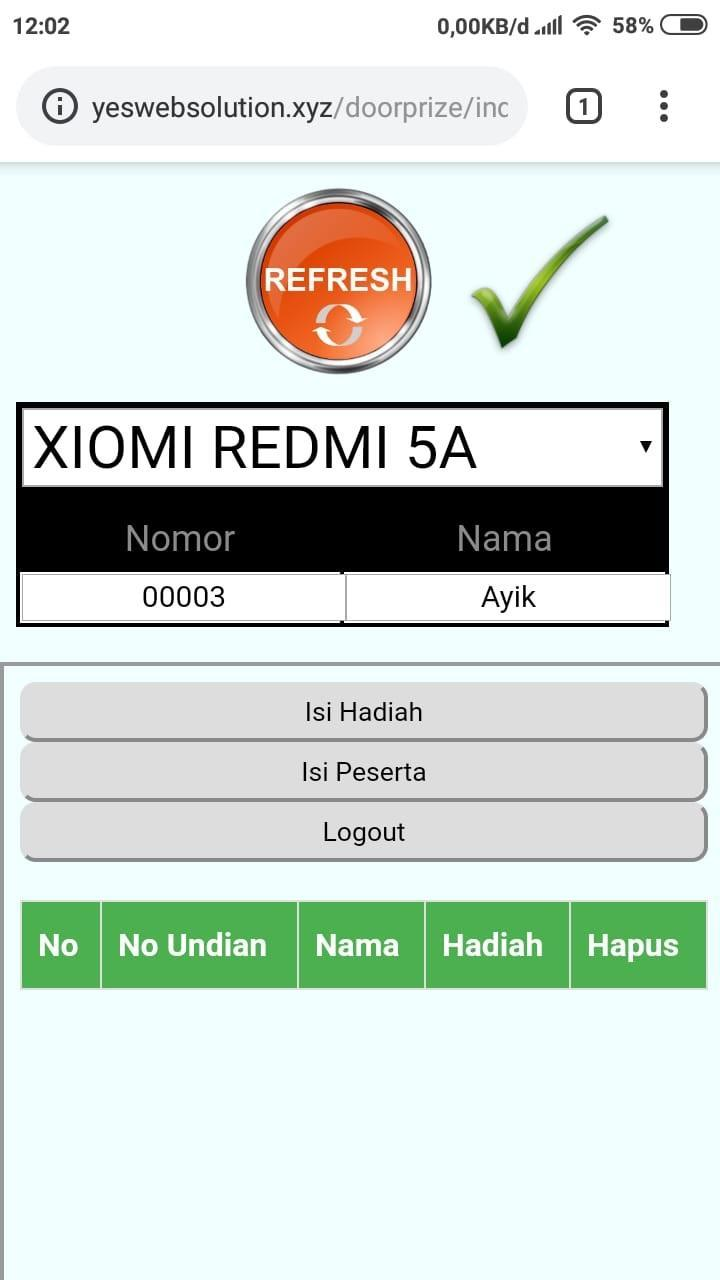 Undian Doorprize For Android Apk Download