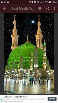 Wallpaper Masjid HD screenshot 4