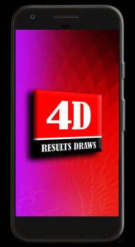Live 4D Results poster