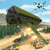 US Army Flying Bus War Rescue Mission icon