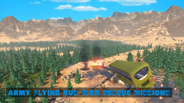 US Army Flying Bus War Rescue Mission screenshot 5