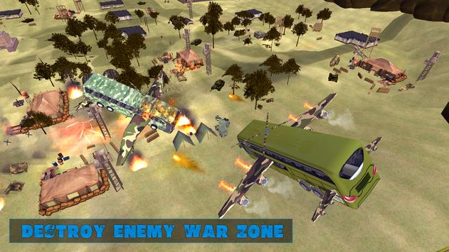US Army Flying Bus War Rescue Mission screenshot 10