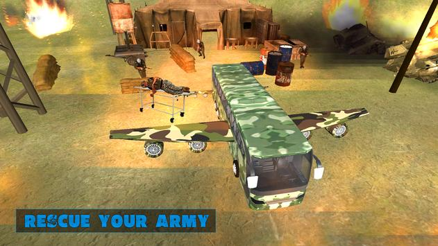 US Army Flying Bus War Rescue Mission screenshot 1
