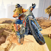 Beach Bike Ramp Stunts Racing Master icon
