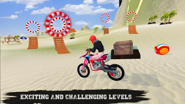 Beach Bike Ramp Stunts Racing Master screenshot 1