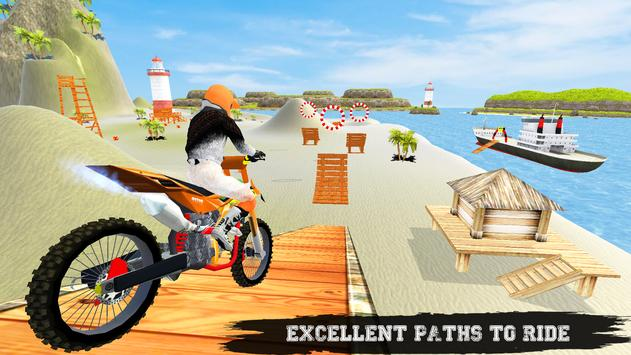 Beach Bike Ramp Stunts Racing Master screenshot 2