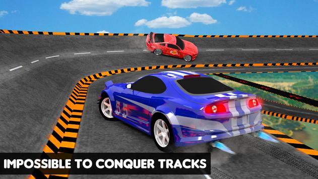 Car Ramp Impossible Tracks 3D - Car Stunts Racing screenshot 2