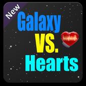Galaxy VS. Hearts icon