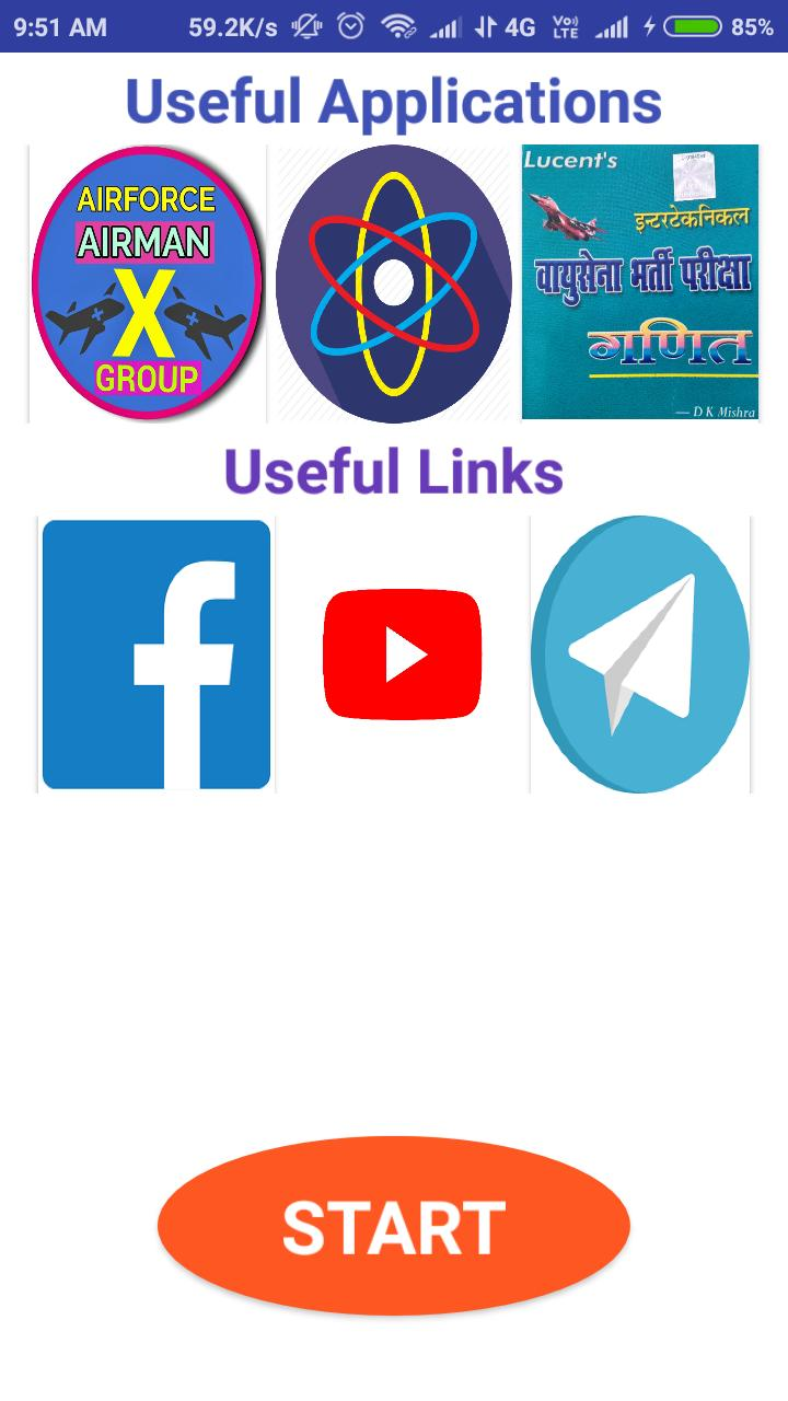 Air-force Y-group Free mock test papers, for Android - APK