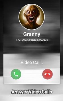 Granny Horror Video Call Simulator screenshot 1