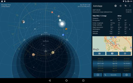 Astrolapp Live Planets and Sky Map 截圖 8