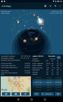 Astrolapp Live Planets and Sky Map 截圖 13