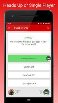 MLB Fan Quiz screenshot 1