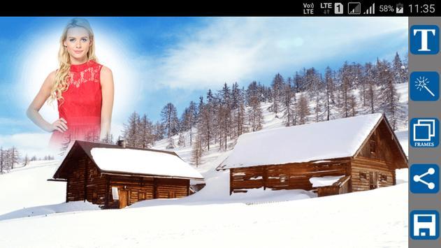 Snowfall Photo Frames screenshot 8