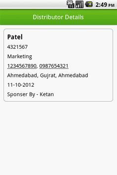 Network Mrkt Contact List Lite screenshot 5