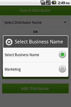 Network Mrkt Contact List Lite screenshot 3
