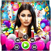 Birthday Video Maker With Music : Photo Slideshow icon