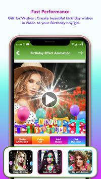 Birthday Video Maker With Music : Photo Slideshow screenshot 3