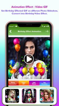 Birthday Video Maker With Music : Photo Slideshow poster