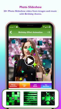 Birthday Video Maker With Music : Photo Slideshow screenshot 2