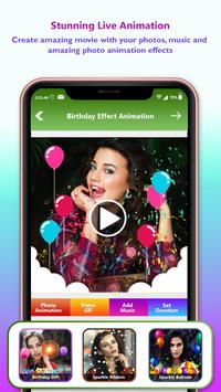 Birthday Video Maker With Music : Photo Slideshow screenshot 4