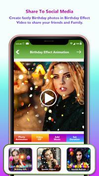 Birthday Video Maker With Music : Photo Slideshow screenshot 5