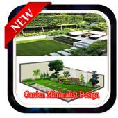 Garden minimalsit design icon