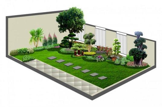 Garden minimalsit design poster