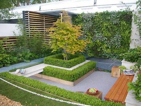 Garden minimalsit design screenshot 3