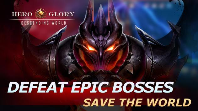 Hero Glory: Descending World screenshot 1