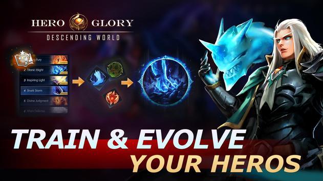 Hero Glory: Descending World screenshot 2