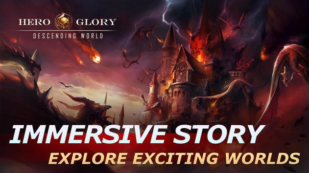 Hero Glory: Descending World screenshot 9