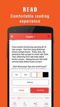 NovelPlus - Novel Percuma Tanpa Had screenshot 1