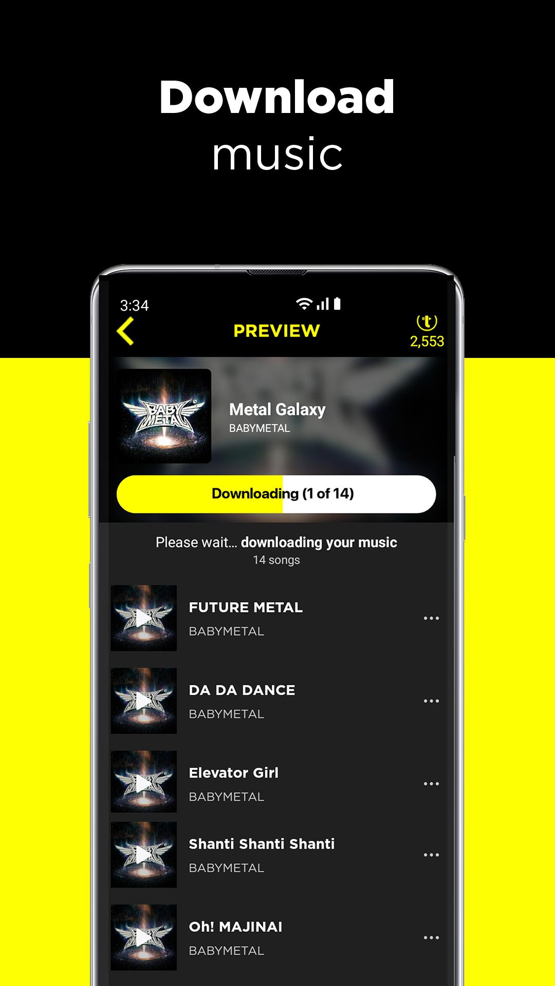 TREBEL - Free Music Downloads & Offline Play for Android