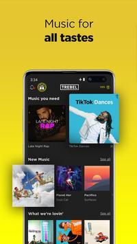 TREBEL - Free Music Downloads & Offline Play скриншот 2
