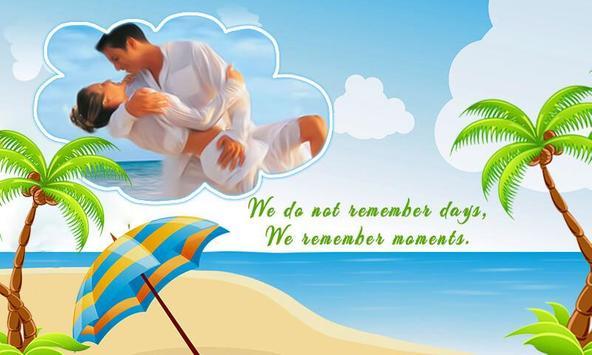 Vacation Photo Frame – Holiday Beach Photo Editor poster