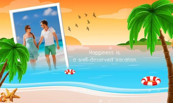 Vacation Photo Frame – Holiday Beach Photo Editor screenshot 1