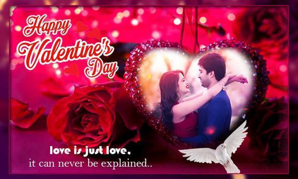 Valentine Week Photo Frame – Chocolate, Hug, Kiss poster
