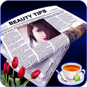 News Paper Photo Frame icon