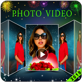 New Year Video Maker - Photo To Video Maker icon