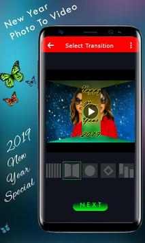 New Year Video Maker - Photo To Video Maker poster