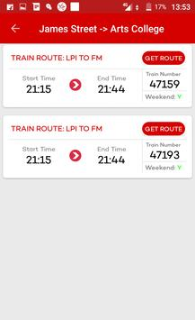 Hyderabad Metro & Local Train Route Map Timetable screenshot 4