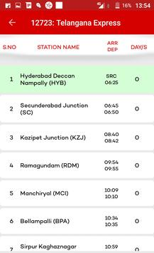 Hyderabad Metro & Local Train Route Map Timetable screenshot 9