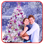 Chirstmas Profile Photo Frame Maker icon
